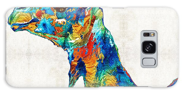 Colorful Camel Art By Sharon Cummings Galaxy Case