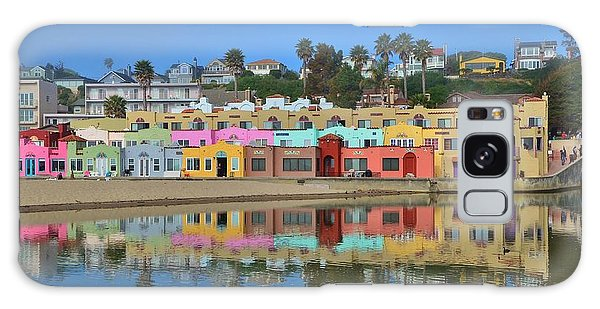 Colorful Capitola Venetian Hotel Galaxy Case