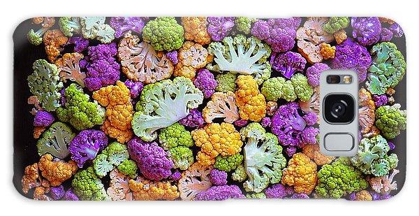 Colorful Cauliflower Mosaic Galaxy Case