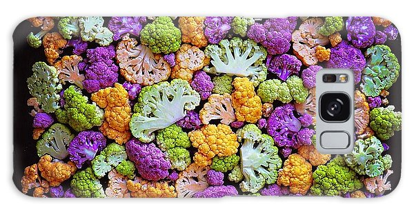 Colorful Cauliflower Mosaic Galaxy Case