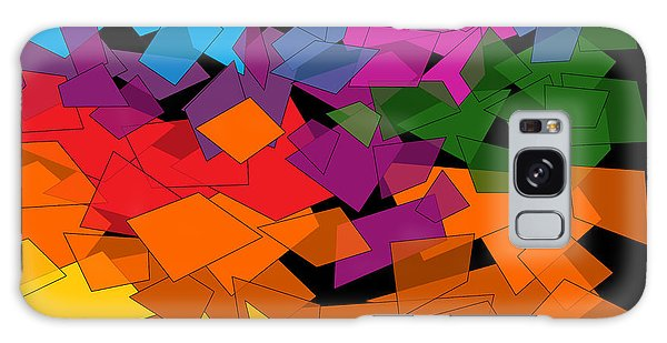 Colorful Chaos Two Galaxy Case by Val Arie