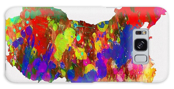 People's Republic Of China Galaxy Case - Colorful China Map by Dan Sproul