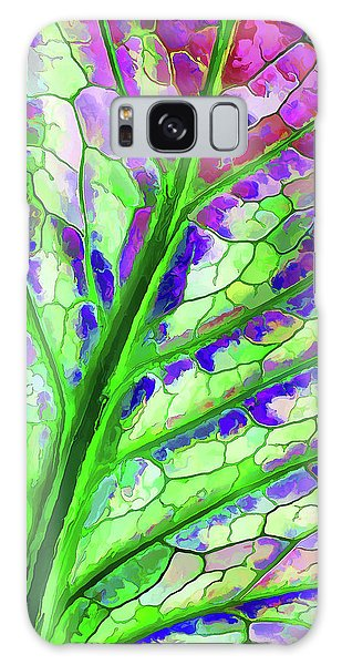 Colorful Coleus Abstract 4 Galaxy Case