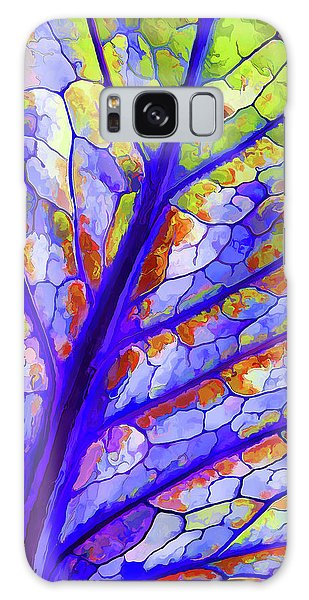 Colorful Coleus Abstract 6 Galaxy Case