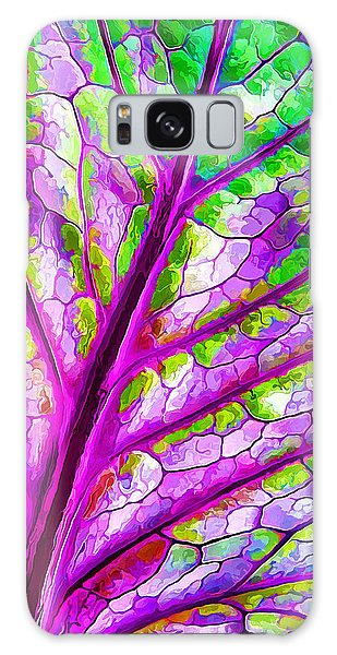 Colorful Coleus Abstract 1 Galaxy Case