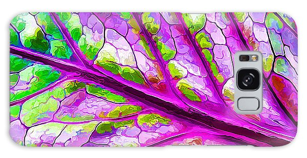 Colorful Coleus Abstract 2 Galaxy Case