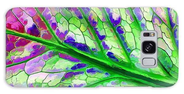 Colorful Coleus Abstract 4 Galaxy Case by ABeautifulSky Photography