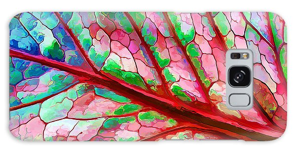 Colorful Coleus Abstract 5 Galaxy Case