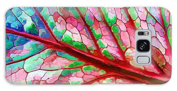 Colorful Coleus Abstract 5 Galaxy Case by ABeautifulSky Photography