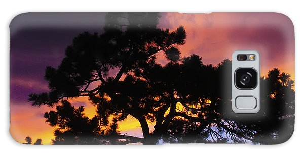 Colorful Colorado Sunset Galaxy Case
