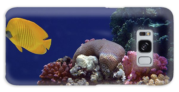 Colorful Coralreef Galaxy Case