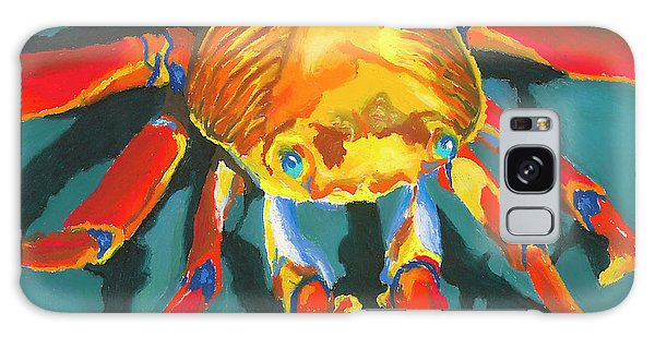 Colorful Crab II Galaxy Case by Stephen Anderson