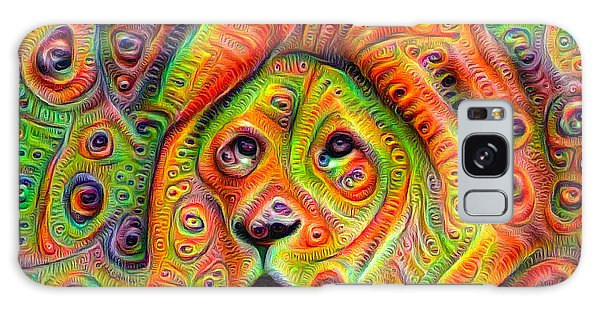 Colorful Crazy Lion Deep Dream Galaxy Case