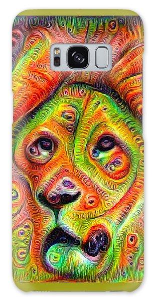 Colorful Crazy Lion Deep Dream Galaxy Case