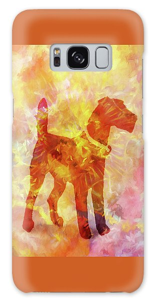 Colorful Dog Galaxy Case