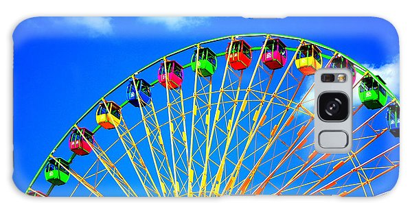 Colorful Ferris Wheel Galaxy Case