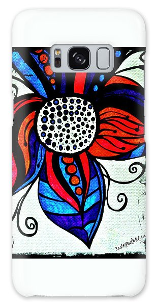 Colorful Flower Galaxy Case