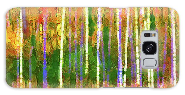 Colorful Forest Abstract Galaxy Case