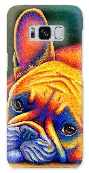 Colorful French Bulldog Galaxy Case