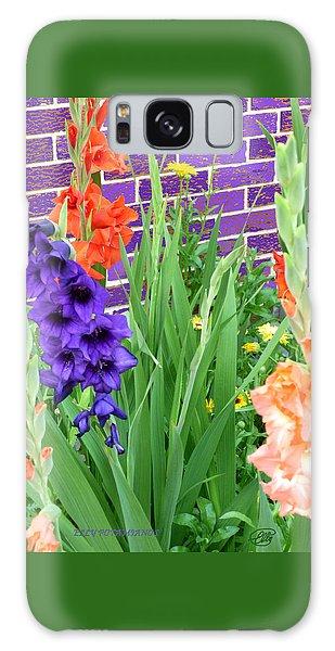 Colorful Gladiolas Galaxy Case