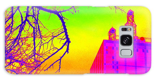Dallas In Vivid Colors Galaxy Case