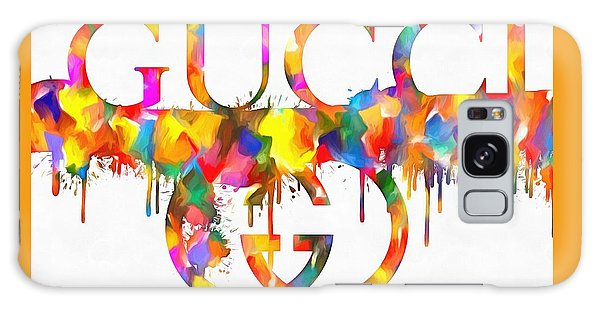 Colorful Gucci Paint Splatter Galaxy Case