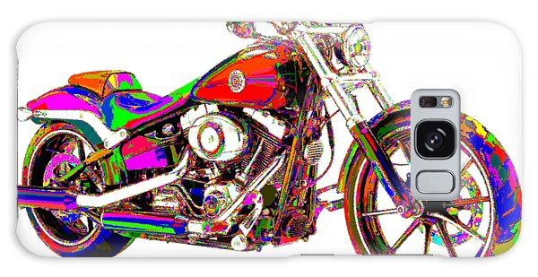Colorful Harley-davidson Breakout Galaxy Case