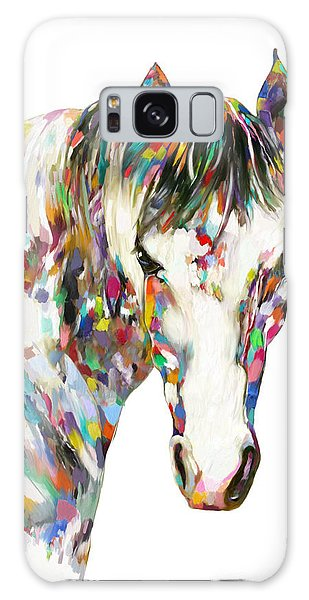 Colorful Horse Galaxy Case
