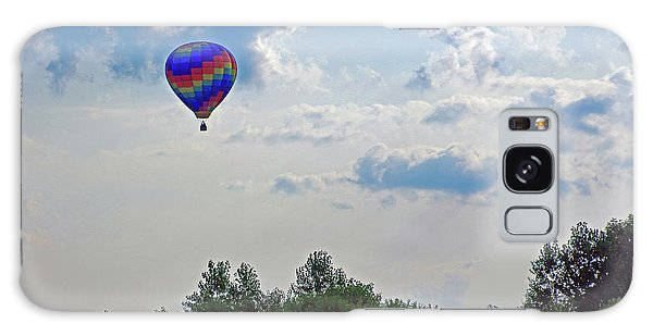 Galaxy Case featuring the photograph Colorful Hot Air Balloon by Angela Murdock