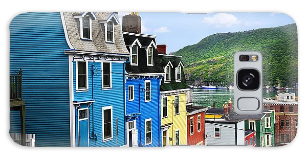 Colorful Houses In St. John's Galaxy Case