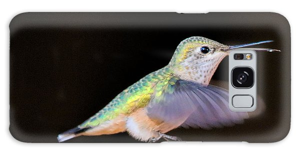 Colorful Hummingbird Galaxy Case
