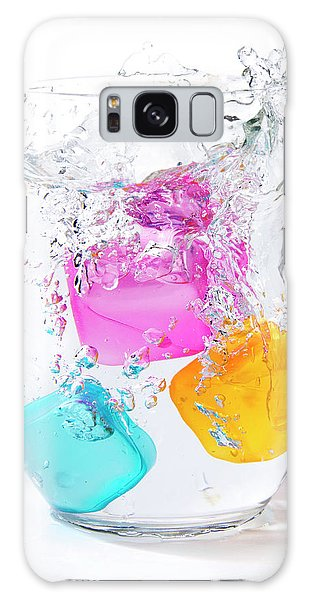 Colorful Ice Galaxy Case