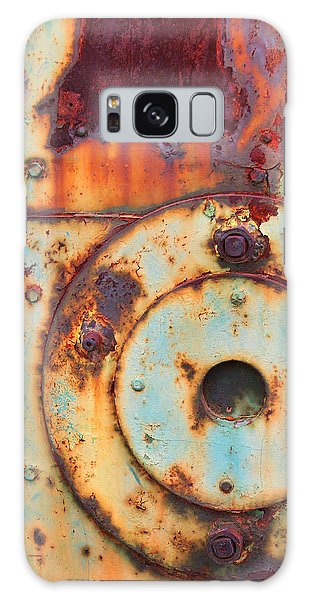 Colorful Industrial Plates Galaxy Case