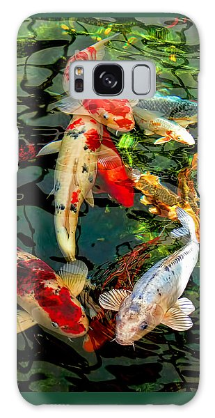 Marie Galaxy Case - Colorful  Japanese Koi Fish by Jennie Marie Schell