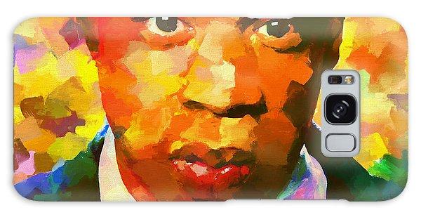 Colorful Jay Z Palette Knife Galaxy Case