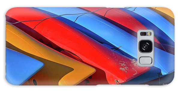 Colorful Kayaks Galaxy Case