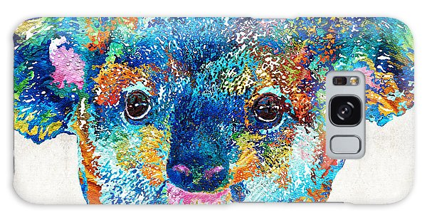 Colorful Koala Bear Art By Sharon Cummings Galaxy Case