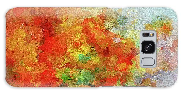 Colorful Landscape Art In Abstract Style Galaxy Case by Ayse Deniz