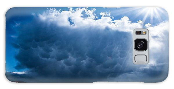 Colorful Mammatus Cloud Galaxy Case by Mick Anderson