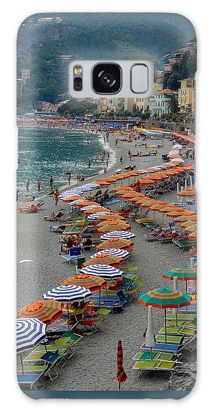 Colorful Monterosso Galaxy Case by Corinne Rhode