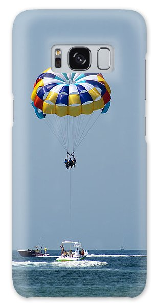 Colorful Parasailing Galaxy Case