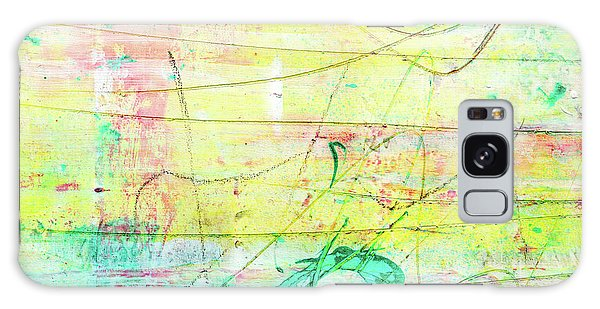 Colorful Pastel Art - Mixed Media Abstract Painting Galaxy Case