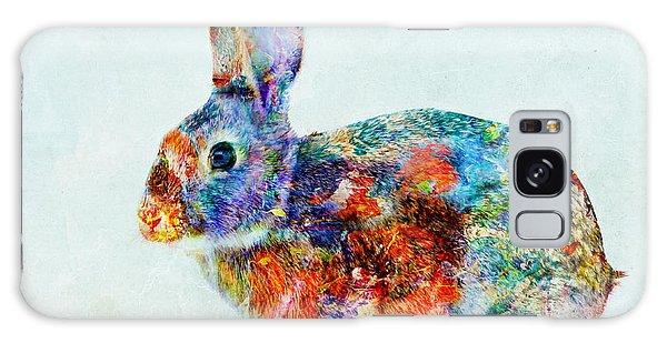 Colorful Rabbit Art Galaxy Case