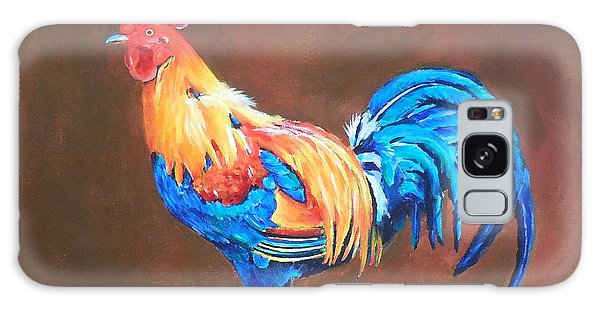 Colorful Rooster Galaxy Case