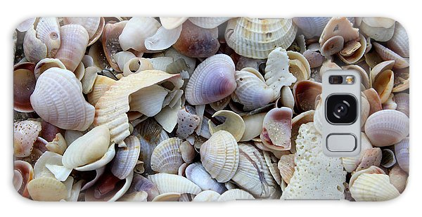 Colorful Shells Galaxy Case by Jeanne Forsythe