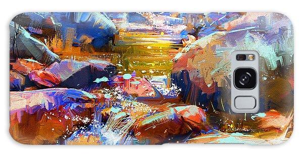 Colorful Stones Galaxy Case