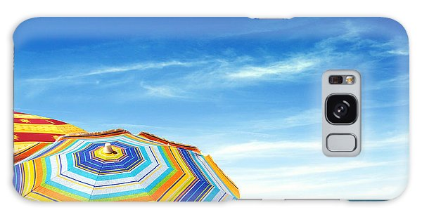 Colorful Sunshades Galaxy Case by Carlos Caetano