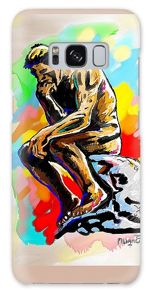 Colorful Thinker Galaxy Case