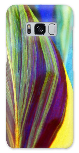 Colorful Ti Leaves Galaxy Case