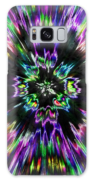 Colorful Tie Dye Abstract Galaxy Case by Phil Perkins